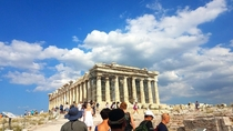 A picture I took of the Parthenon from my trip to Greece