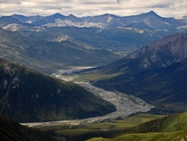 A picture I took this summer in utter solitude - Gates Of The Arctic National Park Alaska