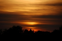 A picture of one of the beautiful sunsets we get back where I grew up in southwestern Germany taken approx  years ago with my Nikon D