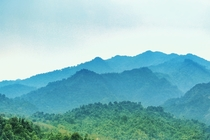 A picture of Patkai mountain range of Arunachal Pradesh India