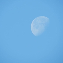A picture of the moon I took on a amateur camera Canon x