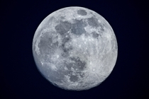 A picture of the moon I took the night before the spring Equinox