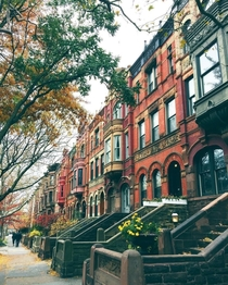 A picturesque street in Brooklyn