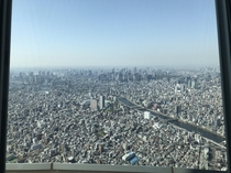 A portion of metro Tokyo from the Tokyo SkyTree