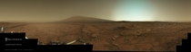 A postcard from Curiosity
