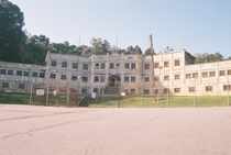A prison in Asheville NC that I took on some film while at a bachelor party