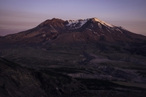 A quiet evening watching the sun set on Mt St Helens