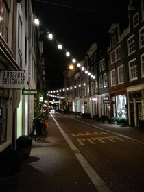 A quiet night in Amsterdam
