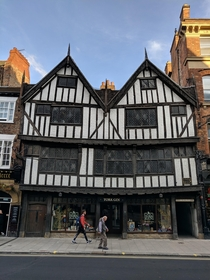 A Quirky Tudor Building in York UK