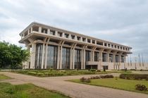 A rare example of beautiful brutalism The Flix Houphout-Boigny Peace Research Foundation Yamoussoukro Cte dIvoire