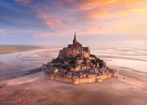 A real life fairytale - Le Mont Saint-Michel Normandy France