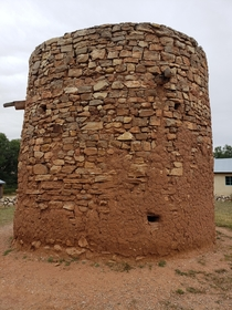 A Redoubt in Lincoln County NM that was used a place to shelter during raids by local tribes