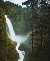 A Rivendell type of feeling at Wallace Falls in Washington