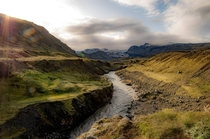 A river in the Icelandic Highlands Iceland