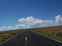 A Road near Winslow Arizona