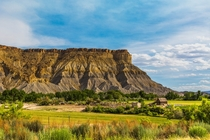 A Rural farm outside of Capitol Reef National Park in Utah By Adam Derewecki