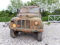 A s British army truck rusting away