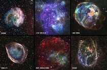 A sample of new images from the archives combining X-ray data from Chandra amp optical from NASAHubble