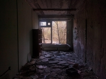 A School In Pripyat Ukraine