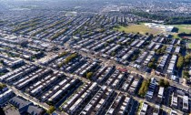 A sea of rowhomes in Northeast Philadelphia