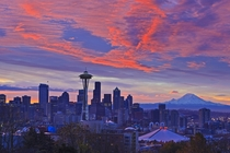A Seattle sunset by Rolf Hicker