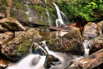 A secret waterfall in Argyll Scotland