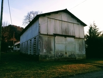 A shed close to my house