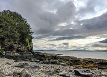 A shore in Broadford Isle of Skye