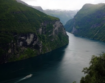 A short bike ride away from Geiranger
