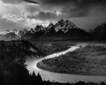 A shot by Ansel Adams the king of black and white Earthporn