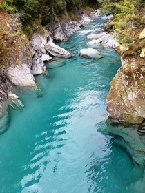 A shot from Blue Pools New Zealand