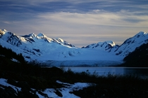 A shot my dad took at Harriman Glacier Alaska