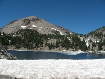 A shot of Mt Lassen in Northern California