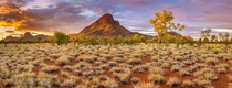 A  shot pano taken in West MacDonnell Ranges in Central Australia By Mark McLeod