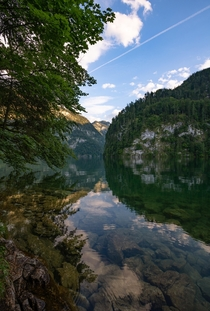 A slightly different view of the Knigssee in Germany