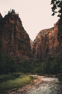 A slightly less mainstream view of Zion National Park Utah