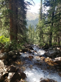 A small stream in the Arapaho National Forest Colorado