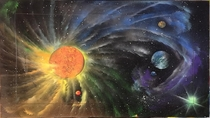 A Solar systemMeSpray Paint