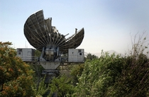 A Soviet Satellite Ground Terminal abandoned in Afghanistan in
