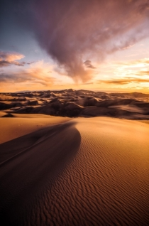 A spring rain storm passes over Colorados Great Sand Dunes National Park home to the tallest sand dunes in North America The diversity of this state is incredible