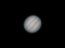 A stack of the first  pictures I took of jupiter
