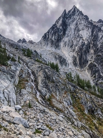 A steep approach to the Enchantments of Washington