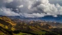 A storm is coming Awatere Valley New Zealand
