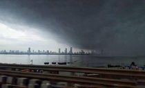 A storm is coming  Bombay India