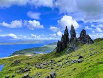 A Storr in the Skye Scotland