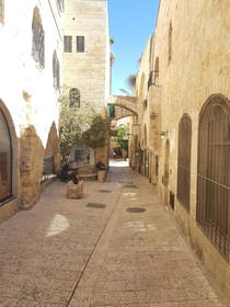 A street in old Jerusalem