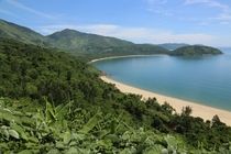 A stunning coastal area north of Da Nang Vietnam - just before the th Parallel