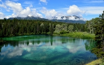 A stunning morning at the Valley of the Five Lakes in Jasper AB