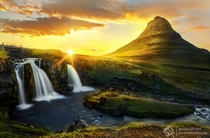 A sunset at Kirkjufell When shooting this I expected it to be my best photo from Iceland I wasnt wrong