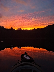 A sunset kayaking adventure a free weeks ago No filter Andover NJ